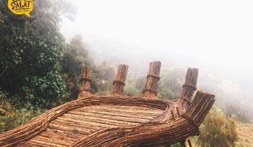 Điểm sống ảo cực chất Hoa Sơn Điền Trang Đà Lạt, bàn tay phật giữ chốn rừng sâu.
