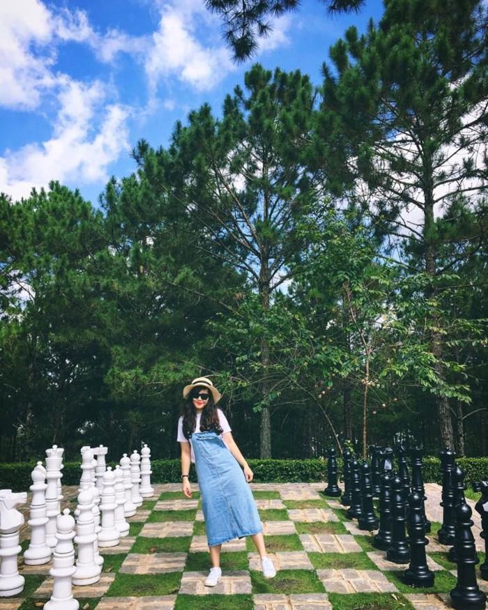 Du lịch Đà Lạt 1 mình cô gái 9x khiến hàng nghìn người khen tị