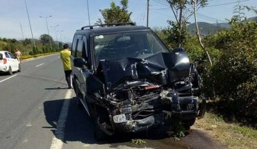 Xe máy cày đi vào đường cao tốc Liên Khương bị xe ô tô 7 chỗ tông trọng thương