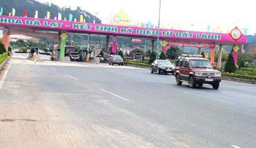 Xạ trạm thu phí Định An dịp lễ hội hoa Đà Lạt