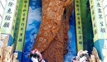Đà Lạt : tượng phật bằng hoa bất tử ở chùa Linh Phước xác nhận kỷ lục thế giới