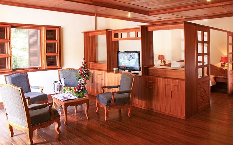 monet garden villa da lat phong executive suite