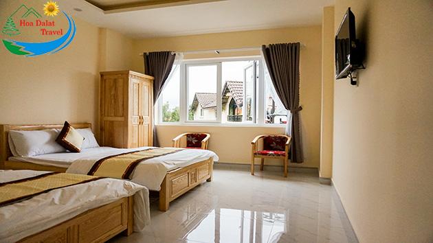 Phòng Khách sạn Tuấn Kiệt Đà Lạt