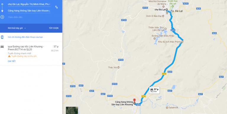 Sân bay Liên Khương Đà Lạt, kinh nghiệm chọn xe đi về Đà Lạt và ngược lại