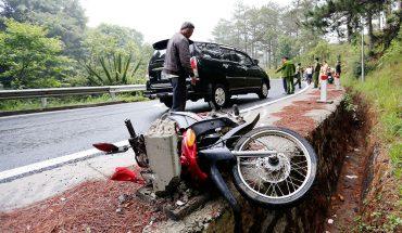 Tại nạn ở đèo prenn làm 2 người tử vong