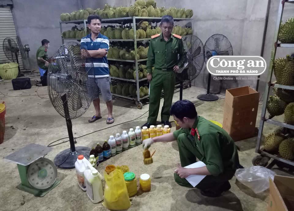 Sầu riêng tầm hóa chất ở Lầm Đồng