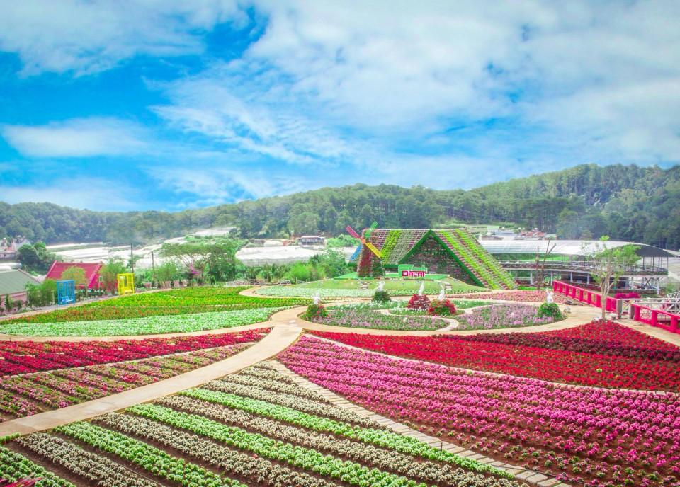 Địa chỉ, đường đi, giá vé tham quan Fresh Garden điểm tham quan mới ở Đà Lạt