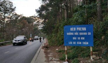Cấm xe trên 16 chỗ lưu thông ở đèo Prenn từ mùng 3 - 6 tết âm lịch 2019