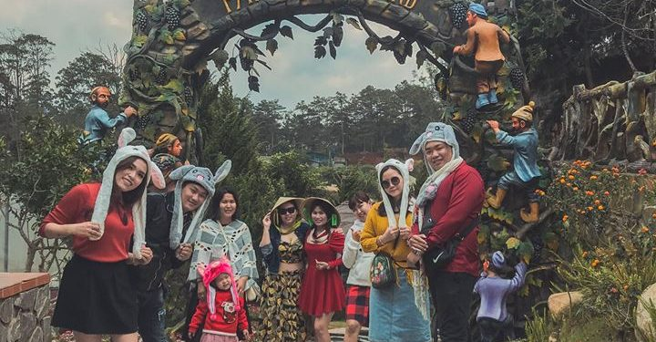 Dalat Fairytale Land - khu vườn cổ tích độc đáo ở Đà Lạt