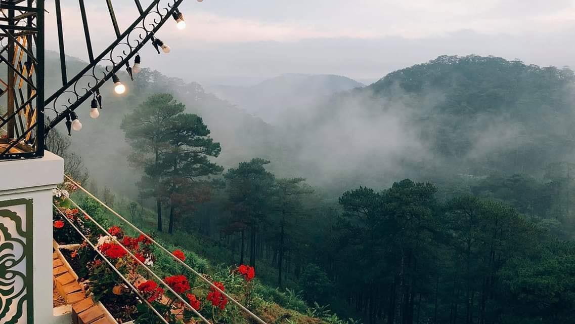 """Quán cà phê """" Khu Vườn Trên Mây """" gây thương nhớ ở Đà Lạt"""