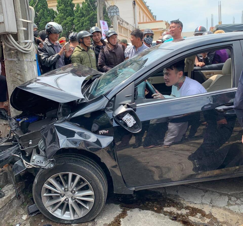 Đà Lạt : Thanh niên ngáo đá lái xe gây tại nạn liên hoàn
